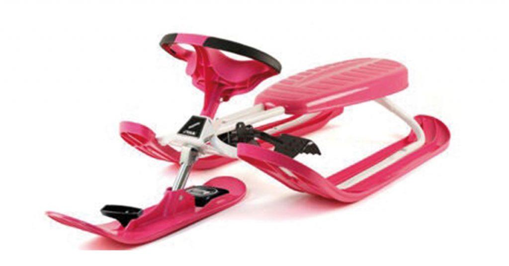 STIGA Curve Pro Snowracer - Rosa